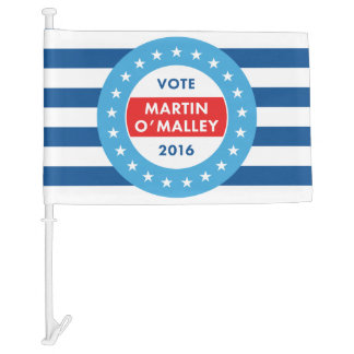 Martin O'Malley 2016 Car Flag