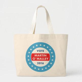 Martin O'Malley 2016 Large Tote Bag