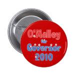 Martin O'Malley for Governor 2010 Star Design Pinback Button