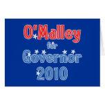 Martin O'Malley for Governor 2010 Star Design Cards