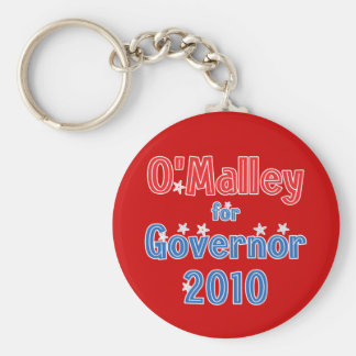 Martin O'Malley for Governor 2010 Star Design Keychain
