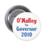 Martin O'Malley for Governor 2010 Star Design Pins