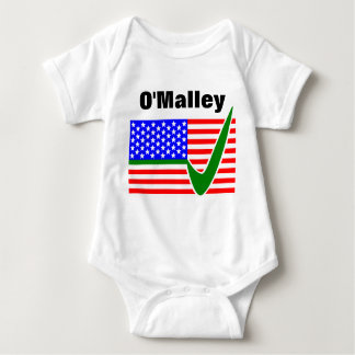 Martin O'Malley  For President 2016 Baby Bodysuit