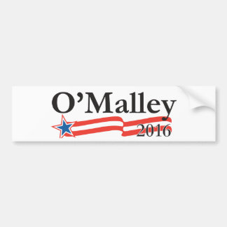 Martin O'Malley for President 2016 Bumper Sticker