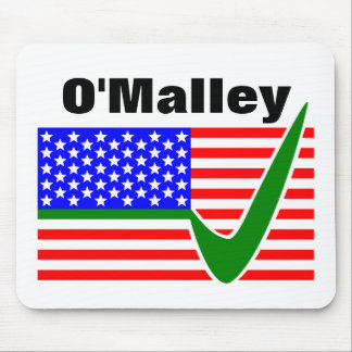 Martin O'Malley  For President 2016 Mouse Pad