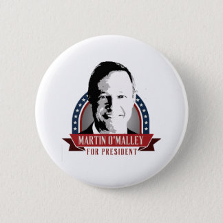 Martin O'Malley For President 2016 Spangled Banner Pinback Button