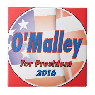 Martin O'Malley for President in 2016 Tile