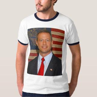 Martin O'Malley Men's Basic Ringer T-Shirt