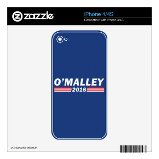 Martin O'Malley, O'Malley 2016 iPhone 4 Skins