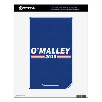 Martin O'Malley, O'Malley 2016 NOOK Color Skin