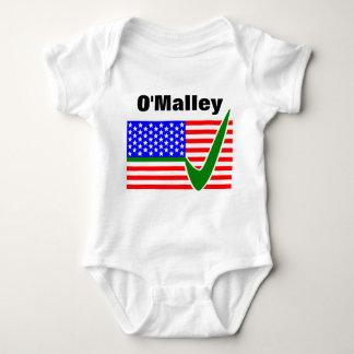 Martin O'Malley para el presidente 2016 Body Para Bebé