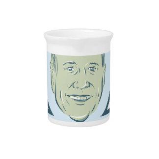 Martin O'Malley President 2016 Beverage Pitcher