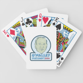 Martin O'Malley President 2016 Bicycle Playing Cards