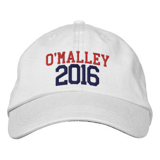 Martin O'Malley President 2016 Embroidered Baseball Cap