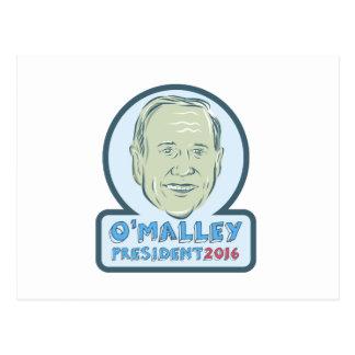 Martin O'Malley President 2016 Postcard