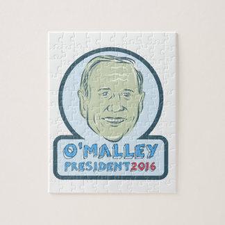 Martin O'Malley President 2016 Puzzle