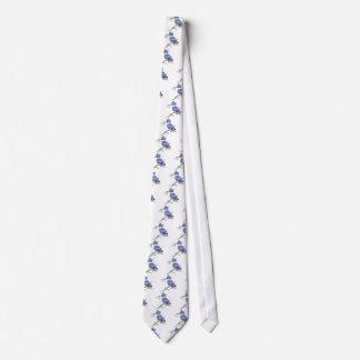 Martín pescador ceñido - con los pescados - colecc corbatas personalizadas