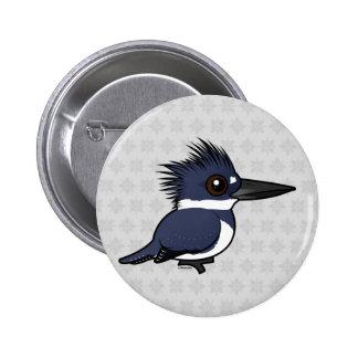 Martín pescador ceñido de Birdorable (varón) Pins