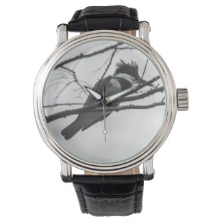 Martín pescador ceñido relojes de mano