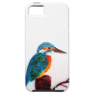 Martín pescador colorido para los móviles