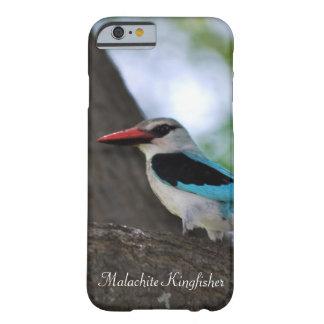 Martín pescador de la malaquita funda de iPhone 6 barely there