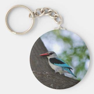 Martín pescador de la malaquita llaveros personalizados