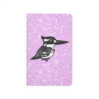 Martín pescador de varios colores de Birdorable Cuaderno Grapado