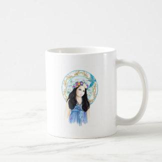 Martín pescador del jade tazas de café