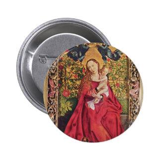 Martin Schongauer- Madonna de la glorieta color de Pins