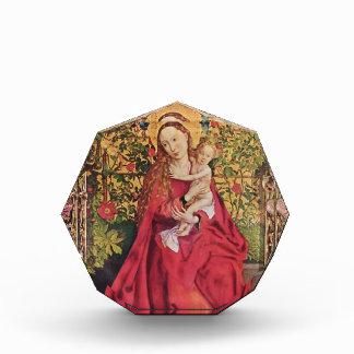 Martin Schongauer- Madonna de la glorieta color de