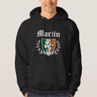 Martin Shamrock Crest Hoodie