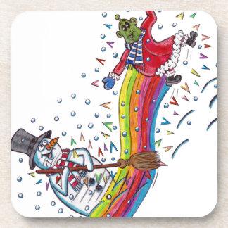Martin the Martian meets Snowy the Snowman Coaster