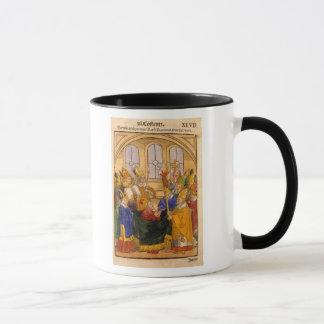 Martin V is installed as Pope Mug