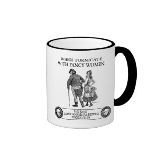 Martin Van Buren 1836 Campaign Ringer Mug