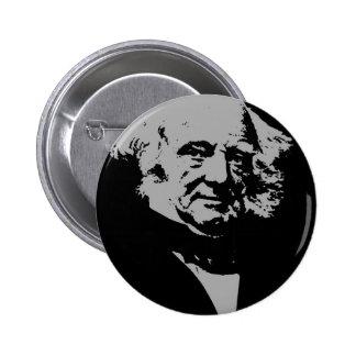 Martin Van Buren 2 Inch Round Button