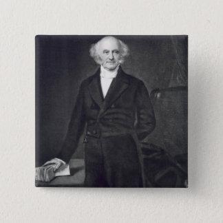 Martin Van Buren, 8th President of the United Stat Button