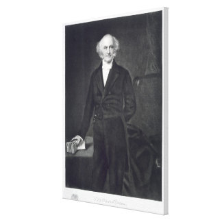 Martin Van Buren, 8th President of the United Stat Canvas Print