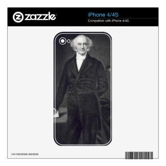 Martin Van Buren, 8th President of the United Stat iPhone 4S Decal