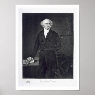 Martin Van Buren 8th President of the United Stat Poster