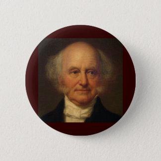 Martin Van Buren 8th President Pinback Button