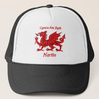 Martin Welsh Dragon Trucker Hat