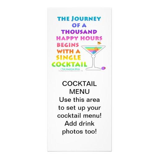 MARTIN ZEN - Happy Hour Journey  Rack Card
