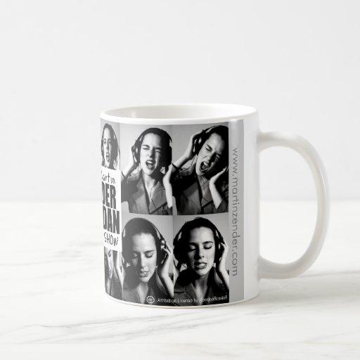 Martin Zender Dan Sheridan Show Classic White Coffee Mug