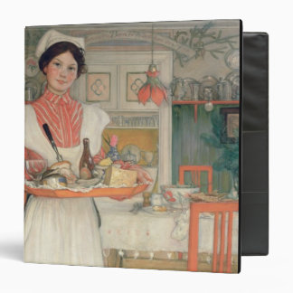 Martina Carrying Breakfast on a Tray, 1904 Binder