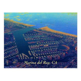 Martina del Rey, Marina del Rey, CA Postcard