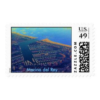 Martina Del Rey, Marina del Rey Stamp