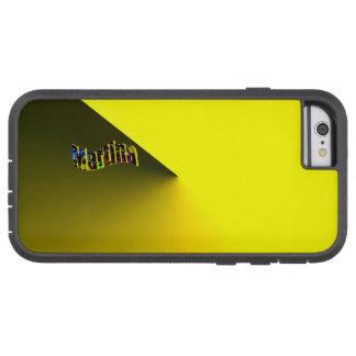 Martina Gradient Yellow Tough Xtreme iPhone 6 case
