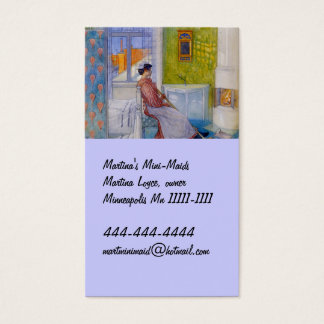 Martina Maid at Rest Business Card