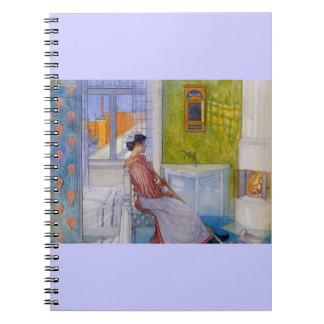 Martina Maid at Rest Notebook