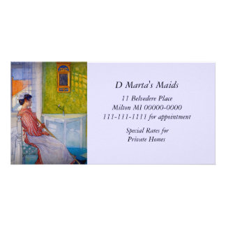 Martina Maid Takes a Break Card